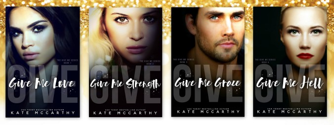 Give Me series covers